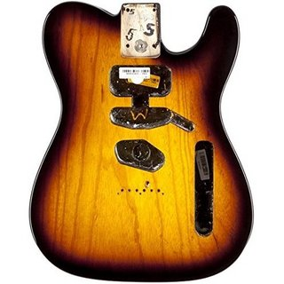 Fender USA TELECASTER ASH BODY (MODERN BRIDGE)-2-COLOR SUNBURST 0998004703
