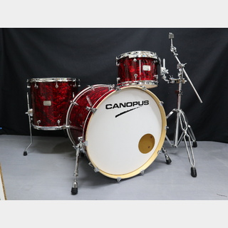 "canopus 【USED】CANOPUS Birch 22""BD,12""TT,16""FT RedPearl セミハードケース付き!"