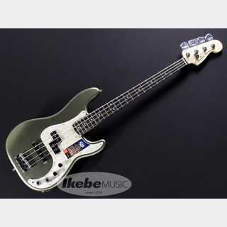 Fender USA American Elite Precision Bass(Satin Jade Pearl Mettalic/Ebony)[Made In USA]【特価】