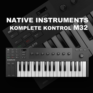 NATIVE INSTRUMENTS 【マイクロサイズキーボード】NATIVE INSTRUMENTS KOMPLETE KONTROL M32