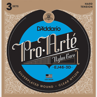 D'Addario EJ46-3D Pro-Arte Nylon Core Multi-Packs ダダリオ 【WEBSHOP】
