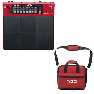 CLAVIA Nord Drum 3P + Soft Case Drum 3P 専用ケースセット!◆1台限り!!【期間限定セール!1月24日18時マデ!】