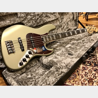 Fender 【フェンダーUSA】American Elite Jazz Bass V  Satin Jade Pearl Metallic (SJPM)