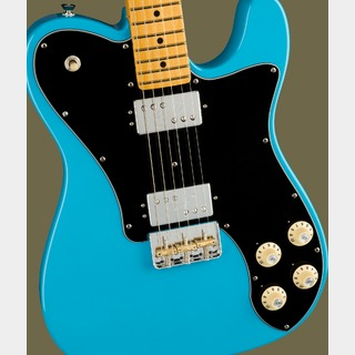 Fender AMERICAN PROFESSIONAL II TELECASTER DELUXE Miami Blue【純正GigBagプレゼント】【ご予約受付中】