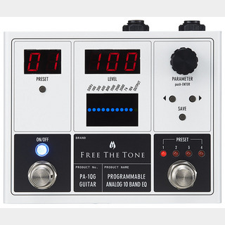 Free The TonePA-1QG [PROGRAMMABLE ANALOG 10 BAND EQ]