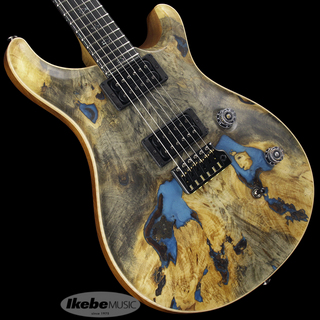 Paul Reed Smith(PRS) Private Stock #8474 Custom24 Buck-eye Burl with Blue Pearl Resin