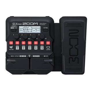 ZOOM G1X FOUR Guitar Multi-Effects Processor