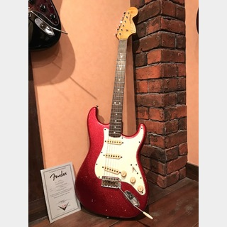 Fender Custom Shop 68 Stratocaster Relic Red Sparkle