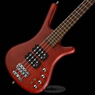 "Warwick German Team Built Corvette $$ 4st ""Flame Maple Top"" (Burgundy Red Transparent Satin)【特価】"