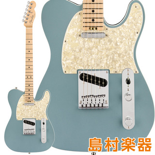Fender American Elite Telecaster Maple Fingerboard Satin Ice Blue Metallic エレキギター