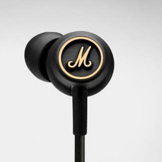 Marshall Headphones Mode EQ BLACK AND BRASS イヤホン