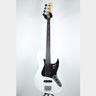Fender American Performer Jazz Bass, Rosewood Fingerboard / Arctic White