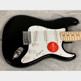 Squier by FenderAffinity Stratocaster Maple Fingerboard (Black)