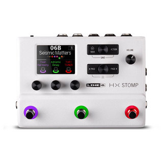 LINE 6 HX STOMP WHITE 《即納可能》【新宿店】