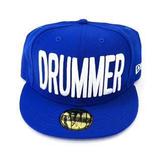 DRUMMERS TOP TEAM DTT CAP01 NEW ERA X DTT 59FIFTY BLUE M 7 1/2 ドラマーズトップチームキャップ