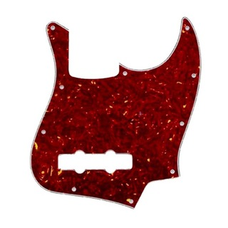 ALLPARTS PICKGUARDS 8050 Red Tortoise Pickguard for Jazz Bass ジャズベースピックガード