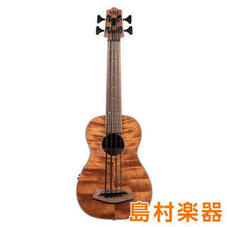 KALA UBASS-EM-FS ウクレレベース EXOTIC MAHOGANY U BASS