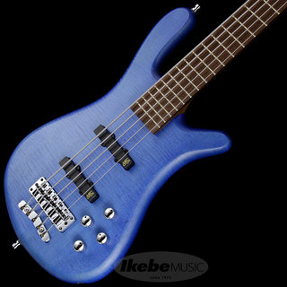 "Warwick German Team Built Streamer LX 5st ""Flame Maple Top"" (Ocean Blue Transparent Satin)"