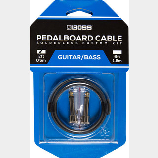 BOSS BCK-2 『Pedalboard cable kit, 2connectors, 0.5m』~ソルダーレスケーブル~