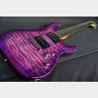 SCHECTER AD-C-6-PLUS Electric Magenta