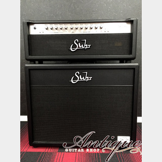 "Suhr PT-100 Pete Thorn Signature Cabinet Set World ltd.50/50 w/ Signed ""Owned by Pete Thorn"""