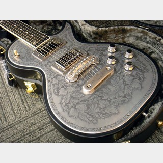 Zemaitis 【新品大特価!】Custom Shop Metal Front Series CS24MF FR4C Black (# KZ160516)【駅前店】
