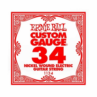 ERNIE BALL1134 NICKEL WOUND 034 エレキギター用バラ弦