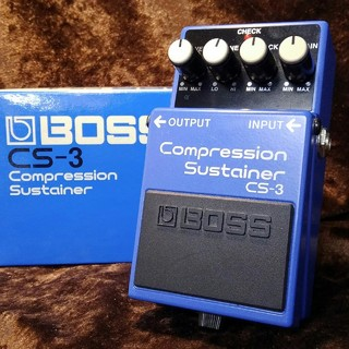 BOSS CS-3 Compression Sustainer ☆送料無料!3月20日 20時まで!!☆