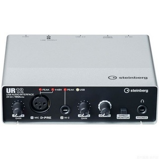 Steinberg UR12 - 2 x 2 USB Audio Interface 【即日出荷可能!】