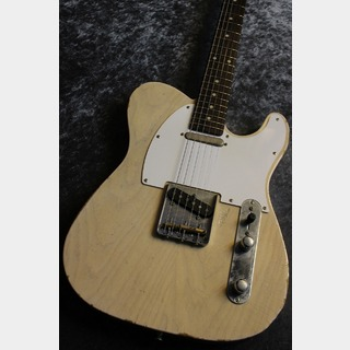 J.W.Black Guitars JWB-JP-T Ash/Rose White Blonde Medium Aged #190008  【USA製同様スペック】【カラハンPU】【極音個体】