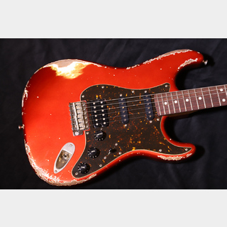 Xotic XSC-2 CANDY APPLE RED /AGING HARD/ALDER/ROSEWOOD