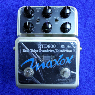 Maxon RTD800 -Real Tube Overdrive Distortion-