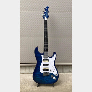 MD GUITARS G7-Q / SBL w / Zebra PU