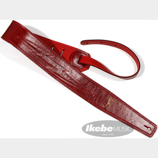 "moody Leather-Leather Red Lightning Bolt 2.5"" std [Red/Red]"