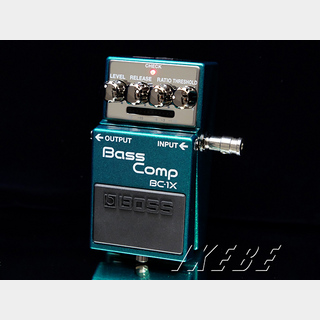 BOSS BC-1X [Bass Comp] 【期間限定★送料無料】 【IKEBE×BOSSオリジナルデザイン風呂敷プレゼント】