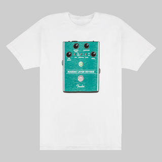 FenderMarine Layer Reverb T-Shirt, White,S【御茶ノ水本店】