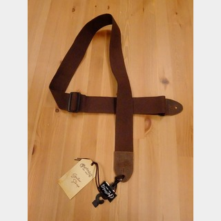 Martin Basic Cotton Weave Strap with Pick Holder (Brown) 18A0105