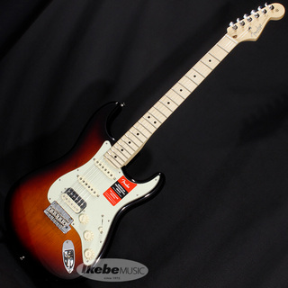Fender USA American Professional Stratocaster HSS Shawbucker (3-Color Sunburst/Maple) [Made In USA]【特価】