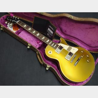 Gibson Custom Shop Historic Collection 1957 Les Paul Standard Reissue Gold Top Gloss 【2013年製】