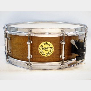 "Longo Custom Drum 【委託中古】Solid Walnut Snaredrum 14""×5""【送料無料】"