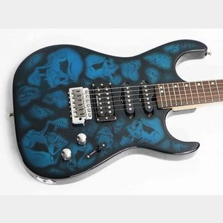 WashburnSkull Graphic guitar