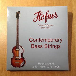 Hofner Strings 1133CR / 1133R Contemporary Violin Bass Strings Round Wound