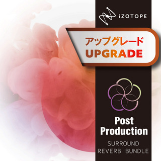 iZotopePost Production Surround Reverb Bundle アップグレード版 from Dialogue Match [メール納品 代引き不可]