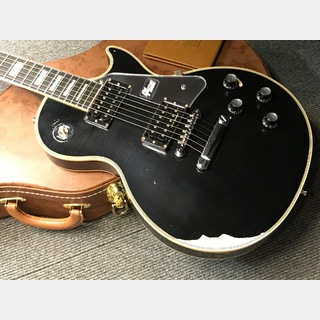 Gibson Custom Shop 1978 Les Paul Custom  Heavy Aged Metal Hard Ware (#780025) Ebony