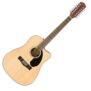 FenderCD-60SCE Dreadnought 12 string WN Natural 12弦アコースティックギター