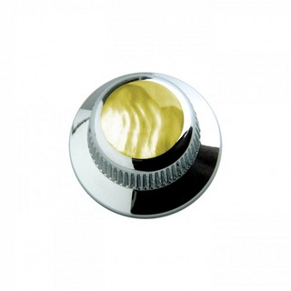 Q-PartsUFO KNOB TYPE [KCU-0716 / Gold Pearl Shell in Chrome] 【展示品処分特価】
