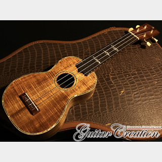 "Guitar Creation Custom Line ""TENJIKU""【HAWAIIAN KOA】~川口市美術展「工芸の部」入選作品~"