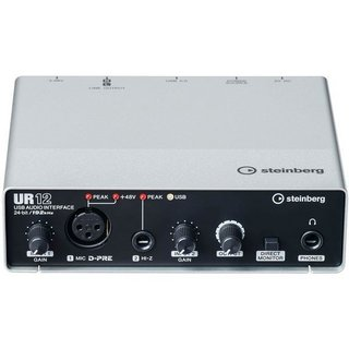 Steinberg UR12 - 2 x 2 USB Audio Interface 【次回入荷分 - ご予約受付中!】