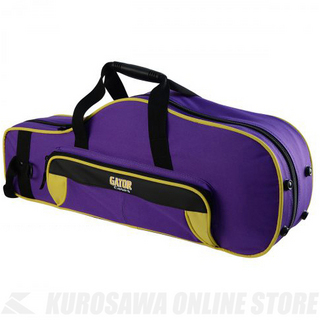 GATOR GL-ALTOSAX-YP Purple&Yellow