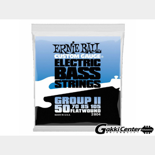 ERNIE BALL Flatwound Group II Electric Bass 50-105 [#2804]